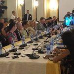 Representantes de los Consejos de las ciudades estadounidenses de Tampa y San Petersburgo visitan La Habana. Foto: @hatzelvela