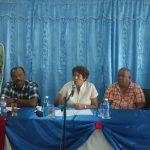 Comparte Ministra de Educación cubana con profesores de Escuela Pedagógica de Manzanillo// Foto Eliexer Peláez