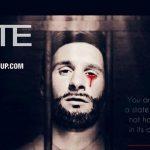 Leo Messi, en un cartel del Estado Islámico reproducido por el observatorio SITE.