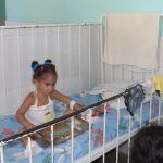 Sala de Hospital Pediátrico Hermanos Cordové // Foto Marlene Herrera (Archivo RG)