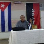 Isidro Betancourt Silva, director de información de la radio cubana // Foto Lilian Salvat