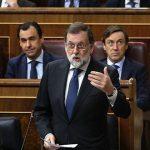 Mariano Rajoy, en la sesión de control al Gobierno en el Congreso de los Diputados, este miércoles. Foto: Juan Manuel Prats/ elperiódico.