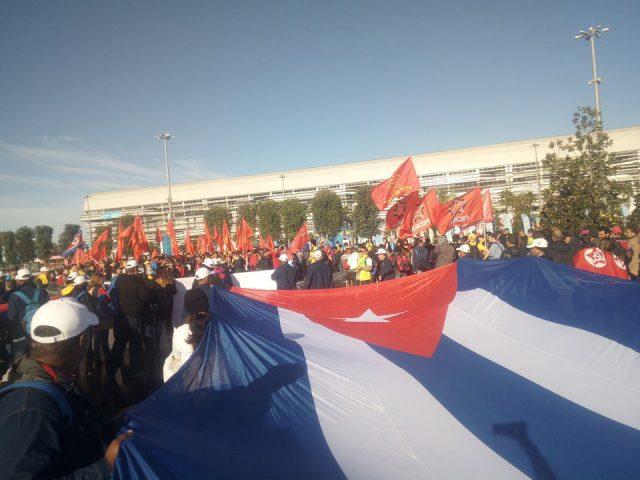 """La delegación cubana """"ha sido, sin dudas, la más activa y entusiasta del evento"""" // Fotos cortesía de la entrevistada"""