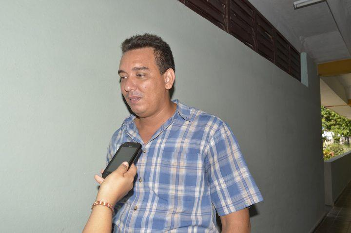 Yoel Tamayo Jiménez, subdirector del seminternado Mariana Grajales // Foto Marlene Herrera