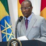 Alpha Condé, presidente de la Unión Africana (UA). Foto: Hispantv.