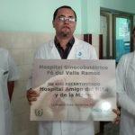 Ratifican condición de Amigo de la madre y el niño en el hospital materno // Foto Marlene Herrera