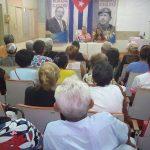 Encuentro con oyentes de la radio manzanillera // Foto Eliexer Peláez
