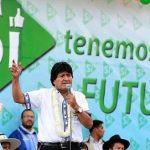 La sociedad civil boliviana organiza grandes concentraciones y marchas en distintas regiones del país para respaldar a Morales como candidato. Foto: Prensa Latina
