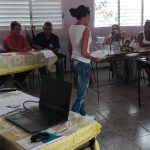 Demuestran habilidades profesionales maestros manzanilleros en Festival Mi mejor clase // Foto Marlene Herrera