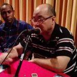 Intercambia destacado intelectual cubano con los manzanilleros // Foto Eliexer Peláez