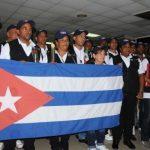 Regresan a Cuba integrantes de la Brigada médica cubana que brindaron ayuda solidaria a los damnificados por el terremoto que dejó un centenar de muertos en Oaxaca, México. Foto: Omara García Mederos/ ACN.
