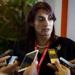Ana Teresa Igarza, directora general de la Zona Especial de Desarrollo Mariel. Foto: Irene Pérez/ Cubadebate.