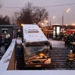 el atropello masivo podría haberse debido a un fallo técnico en los frenos o a que el conductor del autobús. Foto: 20 minutos.