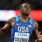 Coleman corre 6.34 y bate el récord mundial en 60 metros
