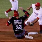 Juego entre Alazanes de Granma, de Cuba, y Tomateros de Culiacán, de México, en la 60 Serie del Caribe de Béisbol, en el Estadio Panamericano de Jalisco, Guadalajara, México, el 3 febrero de 2018.