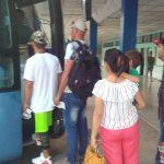Comenzaron viajes Manzanillo - Matanzas de Ómnibus Nacionales // Foto Eliexer Peláez