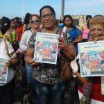 Reconocimiento para delegaciones de base destacadas // Foto Ileana del Carmen Cutiño (tomada de Facebook)