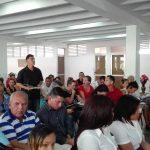 Intercambia viceministra primera de educación con profesionales de la ciudad // Foto Marlene Herrera