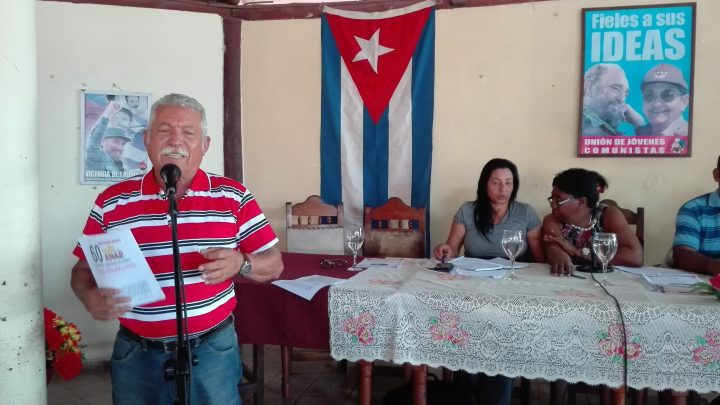 Pedro Bring Cuello, presidente de la CCS Frank País // Foto Marlene Herrera