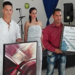 Carlos Manuel Gallardo, multipremiado en esta edición, y merecedor del Gran Premio // Foto Marlene Herrera