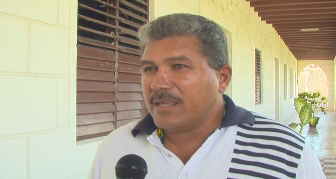 Héctor Jorge Aguilar, presidente del Consejo Popular Las Novillas // Foto Eliexer Peláez