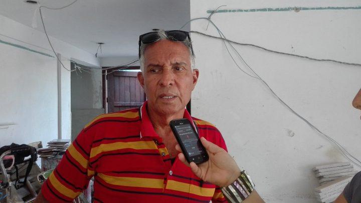 Andrés Rodríguez Hernández, director del Centro de Cine en Manzanillo // Foto Marlene Herrera