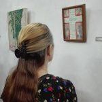 Abierta al público Expo de artes plásticas Desciende // Foto Marlene Herrera