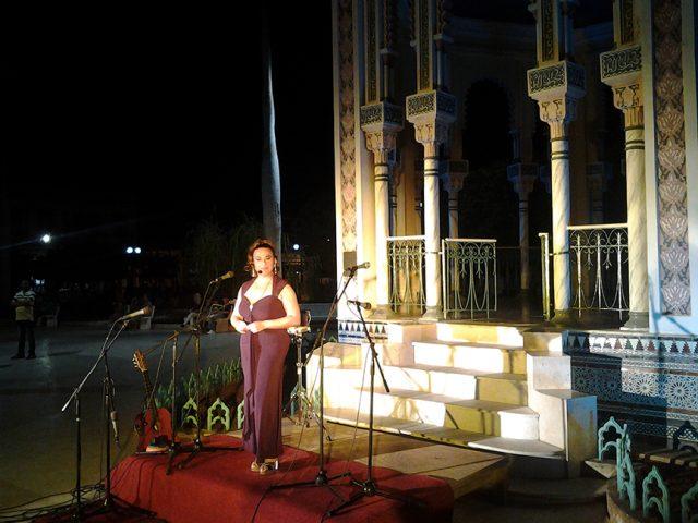 Ethel Frías regaló su melodiosa voz en la gala // Foto Lilian Salvat
