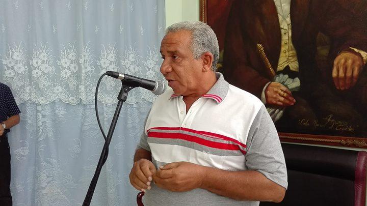 """""""El premio es del pueblo de Manzanillo"""" // Foto Marlene Herrera"""