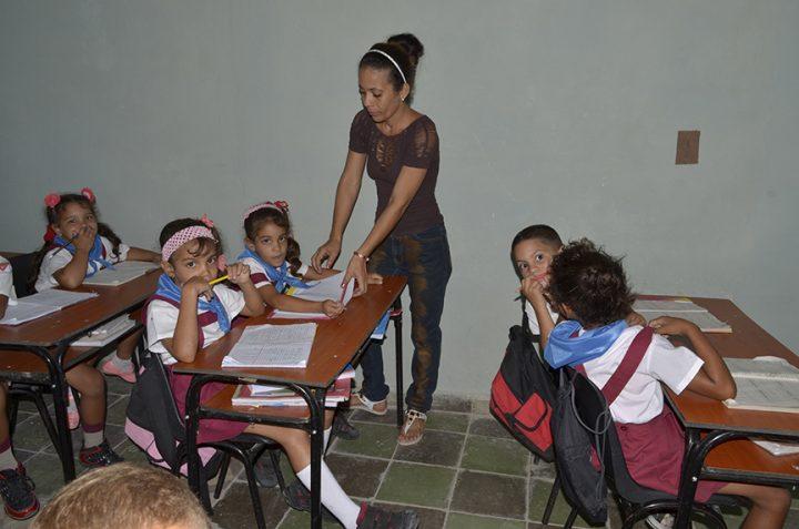 Seminternado Mariana Grajales entre los centros que abrieron sus puertas este 3 de septiembre // Foto Marlene Herrera