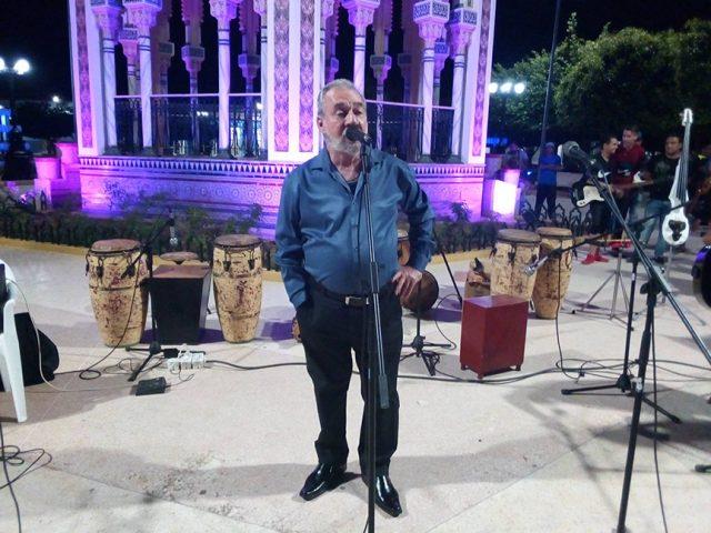 Wilfredo Naranjo (Pachi), agradeció a la UDG por este homenaje a la orquesta insigne de este territorio // Foto Eliexer Peláez