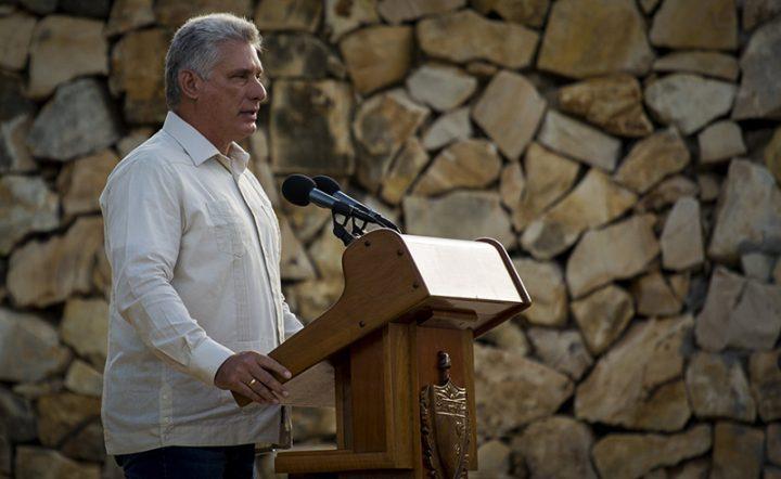 """Díaz-Canel ratificó la voluntad del pueblo cubano """"Hemos luchado 150 años y seguiremos luchando hasta la victoria siempre"""""""