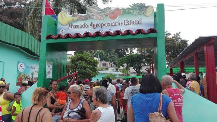 Mercado La Kaba fue remodelado // Foto Marlene Herrera