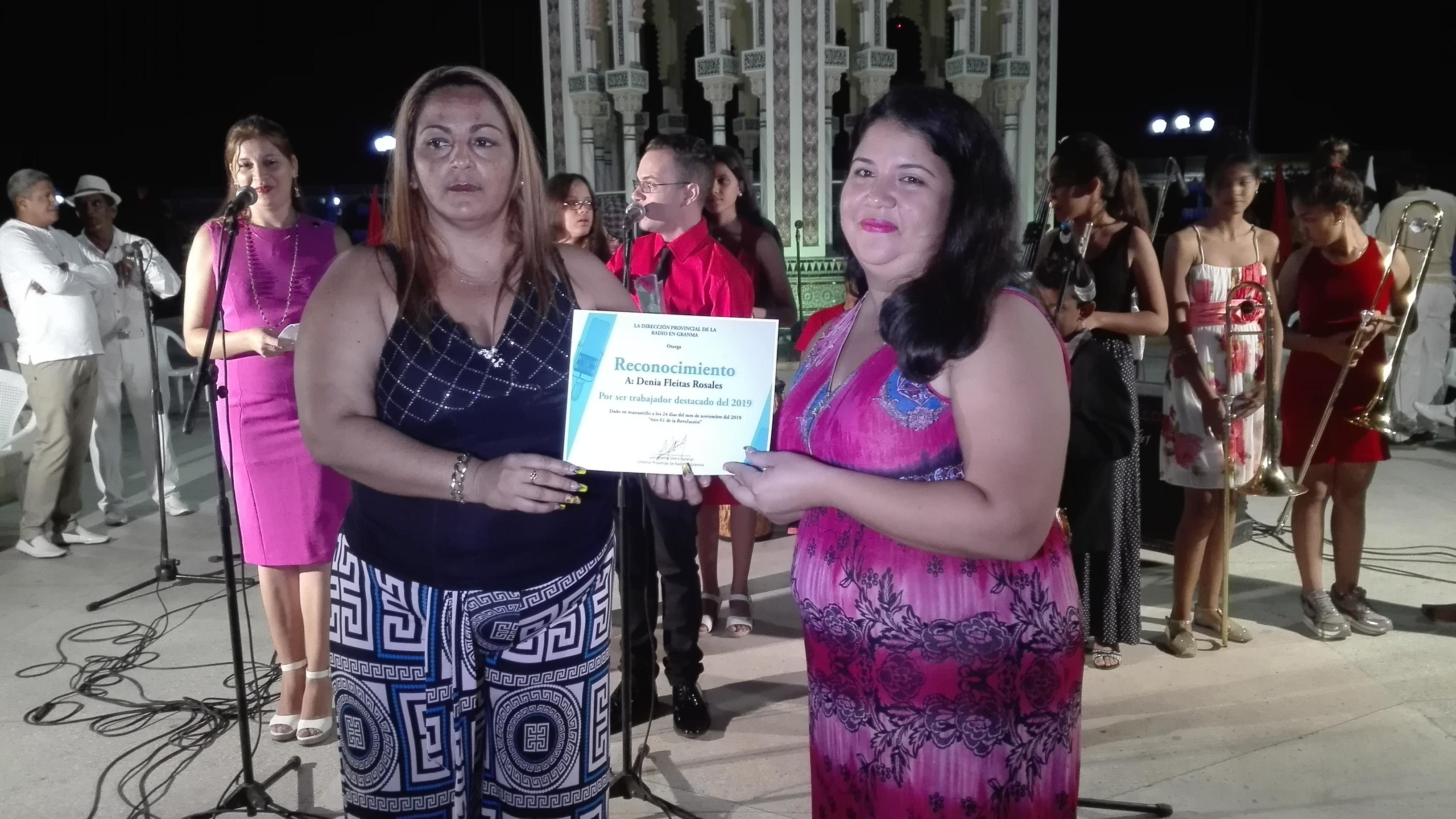 Reconocimiento a trabajadores destacados // Foto Marlene Herrera