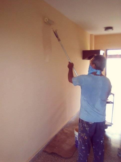 Se remodelan las habitaciones // Foto tomada del Facebook de Iosmani Ferrer