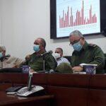 Consejo de Defensa Provincial en La Habana