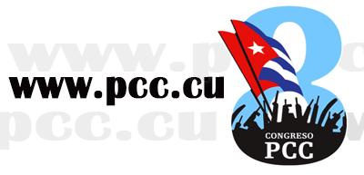 Web oficial del PCC en congreso