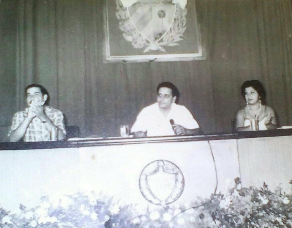 Rafael Domínguez fue Presidente de la Asmablea Municipal del Poder Popular en Manzanillo //Foto cortesía del entrevistado