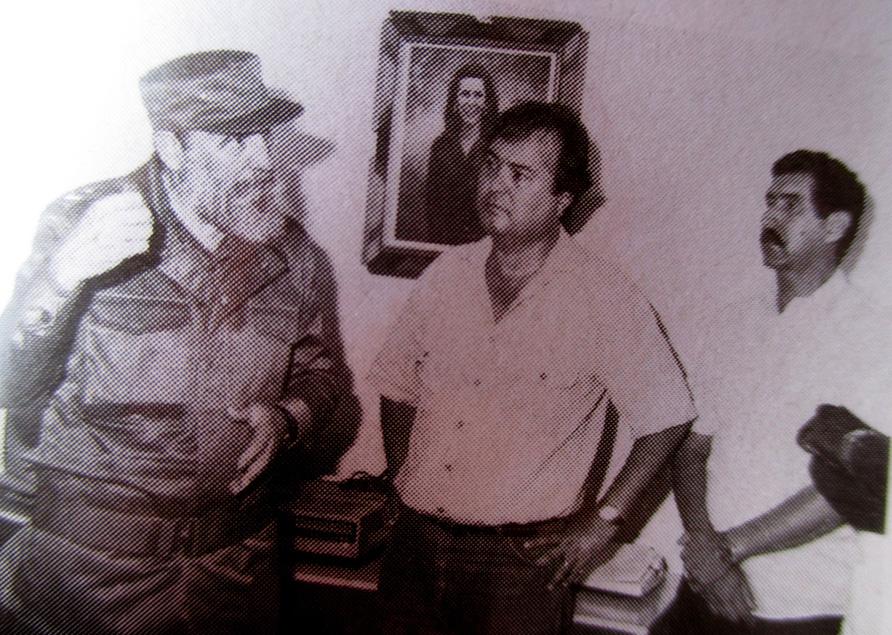 Fidel dialoga con dirigentes granmenses en Manzanillo //Foto de archivo
