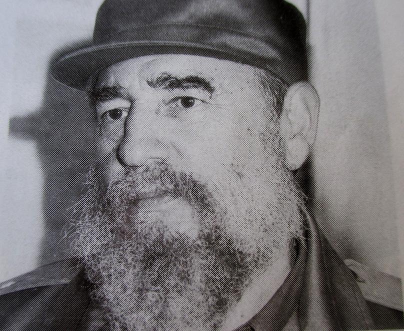 Foto tomada a Fidel en Manzanillo //Foto de archivo